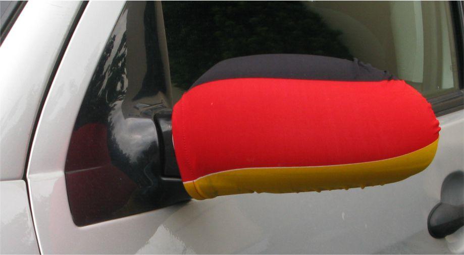 Autospiegel fahne deutschland 2er set for Spiegel und fahne