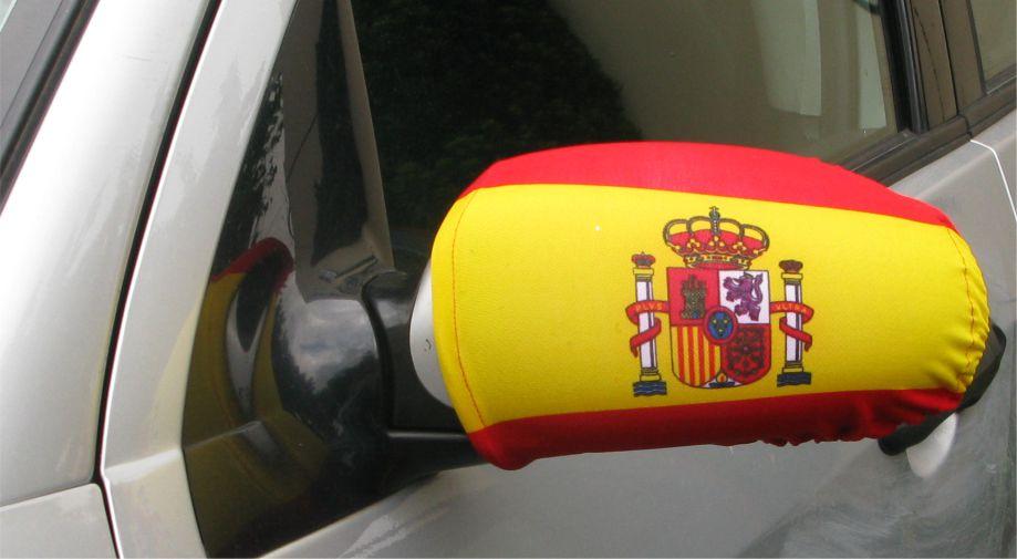 Autospiegel fahne spanien 2er set for Spiegel und fahne