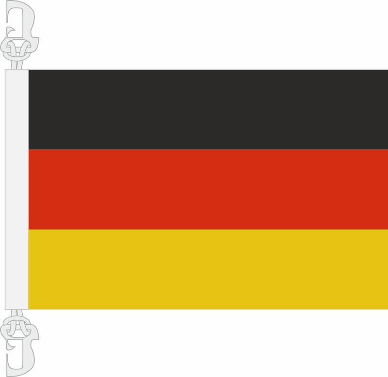Hissfahne Deutschland