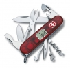 Offiziersmesser Traveller | 91 mm | rot transparent