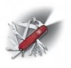 Offiziersmesser Huntsman Lite, | 91 mm | rot transparent