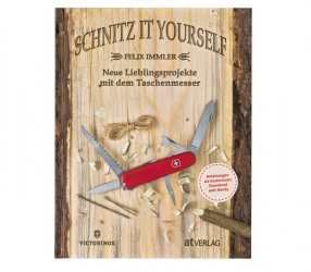 "Buch ""Schnitz it Yourself\"" Deutsch"