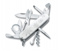 Offiziersmesser, Explorer White Christmas Special Edition 2017 | 91 mm | weiss
