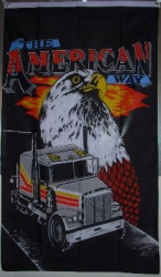 The American Fahne gedruckt | 90 x 150 cm