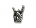 Rock-Hand Pin klein | ca. 18 x 12 mm