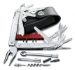 Swiss Tool X Plus Ratchet in Leder-Etui | 115 mm