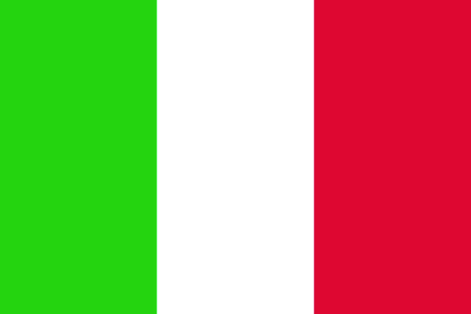 Memorabilia Fahne Flagge Italien 90 x 150 cm