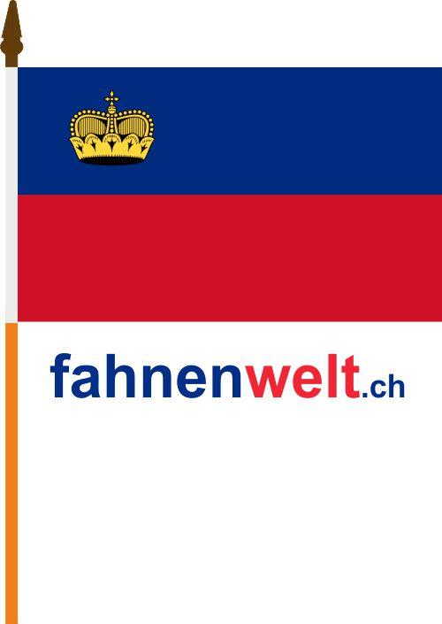 30 x 45 cm Flaggenfritze/® Flagge Liechtenstein