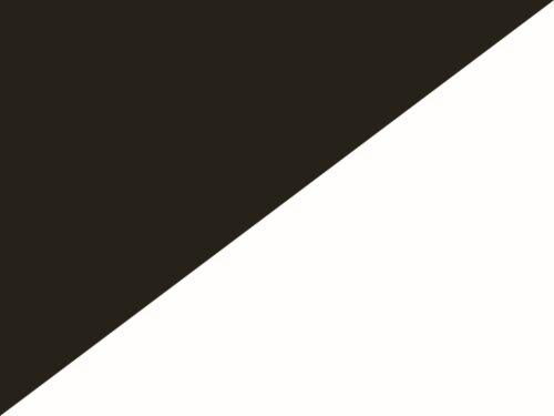 Fahne Schwarz Weiß
