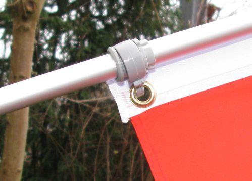 Teleskop fahnenstange ausziehbar bis cm