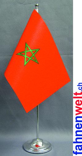 Tisch fahne deluxe marokko gedruckt for Marokko tisch