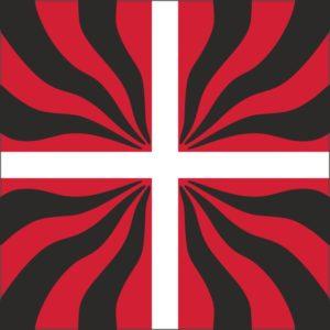 Geflammte Fahne Alt-Bern
