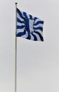 Geflammte Luzerner Fahne