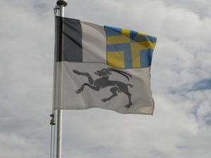 Flagge Kanton Grubünden