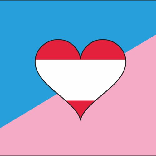 Fahnen Regenbogen und Gender