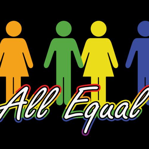 All Equal Fahne