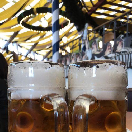 Zwei Mass Bier