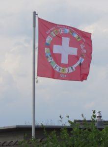 CH Fahne am Mast