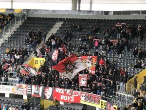 Fans des FC Thun in Bern